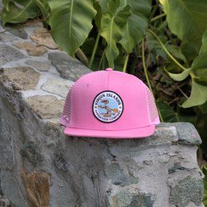6 Panel Pelican Hat Pink