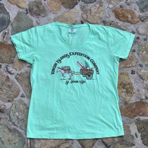 Womens Donkey Shirt Mint