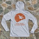 Expedition Surf Shirt Hoodie Gray Back