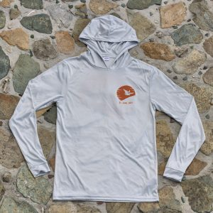 Expedition Surf Shirt Hoodie Gray Front